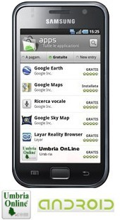 Android Apps Umbria OnLine 