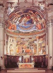 Abside con affreschi di Filippo Lippi