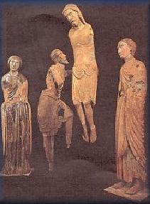 Gruppo ligneo di Deposizione (1260-1270)