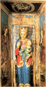 Madonna con Bambino - statua lignea