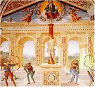Martirio di S. Sebastiano