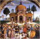 Affresco di Bernardino di Betto detto il Pinturicchio