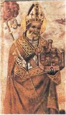 Affresco di Sant'Ubaldo