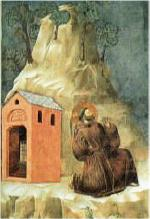 Giotto: San Francesco riceve le stimmate