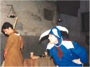 rappresentazione in una Taverna